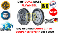 FOR HYUNDAI COUPE 2.7 V6 COUPE 165/167BHP 2001-2009 NEW DUAL MASS DMF FLYWHEEL