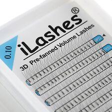 iLashes prefanned 3D Volume lashes eyelash extension fans C D  J Curl 9 11 12 13
