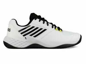 K-Swiss Aero Court Men's Tennis Shoe (White/Black/) Size US 10.5