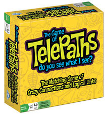 TELEPATHS - THE MATCHING GAME OF CRAZY CONNECTIONS & LOGICAL LINKS OUTSET MEDIA