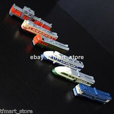 Rare Transformers G1 C-131 Raiden Trainbots + 3rd Party Accessories