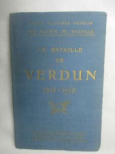 """Guide illustré Michelin des Champs de Bataille """"La Bataille de Verdun 1914-1918"""""""