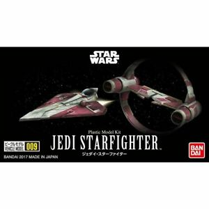 BANDAI Star Wars VEHICLE MODEL 009 JEDI STARFIGHTER Model Kit NEW from Japan F/S