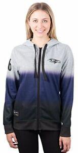 NFL Baltimore Ravens Women's Full Zip Hood Jacket Small