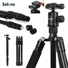 Selens Pro Camera Tripod Monopod & 360° Panorama Ball Head Quick Release Plate
