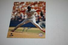 ST LOUIS CARDINALS LEE SMITH SIGNED 8X10 PHOTO FUTURE HALL OF FAMER 478 SAVES