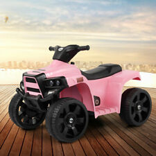 Electric Kids Ride On ATV Quad 4 Wheels Toy Cars with Led Lights Battery Powered