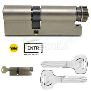 Cylinder European Motorized For YALE Entry Lock Key for Door Home Automation