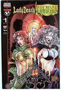 2001 LADY DEATH MEDIEVAL WITCHBLADE #1 Near Mint Image Comics Top Cow Chaos