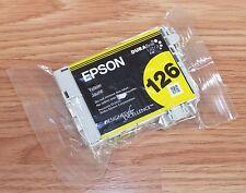 Genuine Epson (T1264) 126 Single Yellow Ink Cartridge *READ*