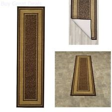 Carpet Design Modern Runner Rug With Rubber Backing Hall Bathroom Kitchen, New