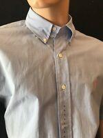 "BNWT RALPH LAUREN Men's Classic Fit Check Short Sleeve Shirt.Size L Chest 48"""