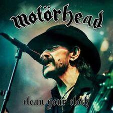 CD + DVD SET MOTORHEAD CLEAN YOUR CLOCK BRAND NEW SEALED