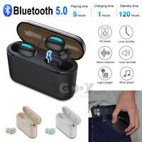 In-Ear Kopfhorer Bluetooth V5.0 Kopfhörer TWS Wireless Kabellos Stereo Ohrhörer