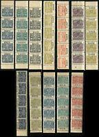 Argentina PROVINCE SANTA FE REVENUE Stamp Collection 1915 1916 1921 Mint NH