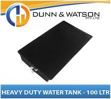 Heavy Duty 100L Litre Poly Water Tank - Camper Trailer Caravan 4X4 4WD Aus Made