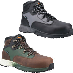 Timberland Pro Safety Boots Euro Hiker Mens Waterproof Leather Composite Work