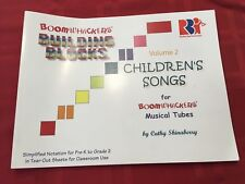 BOOMWHACKERS BUILDING BLOCKS CHILDREN'S SONGS VOLUME 2