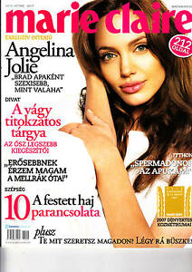 ANGELINA    JOLIE.     Hungarian magazine   2007    212 pages