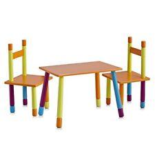 Ensemble 2 chaises et 1 table pour Enfants Multicolore Zeller