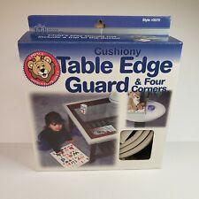 PRINCE LIONHEART CUSHIONY TABLE EDGE GUARD 12' + 4 CORNERS Brown New