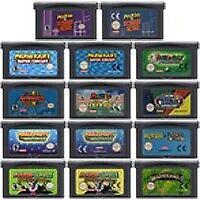 Super Mario Series Game Boy Advance Nintendo Gba 32bit Cartridge Memory Gameboy