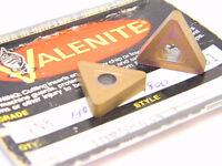 NEW SURPLUS  5PCS.  VALENITE  TNMG 434E  GRADE: VN8  CARBIDE INSERTS