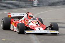 1/10 1975 Ferrari 312T F1 RC Car RC Body with wings decal for Tamiya F103 F104w