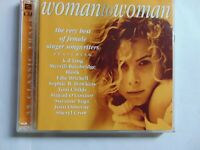 Woman To Woman - Various Artists Compilation - 2CD - FREE POST