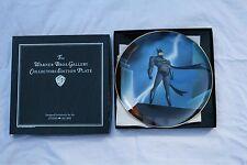BATMAN ANIMATED SERIES WARNER BROS COLLECTOR'S PLATE ASSIETTE DC COMICS 1995.