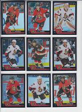 16/17 OPC Ottawa Senators Curtis Lazar Black Rainbow card #325 Ltd #/100