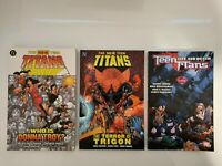 DC COMICS THE NEW TEEN TITANS LOT WOLFMAN GEOFF JOHNS GRAPHIC NOVELS (A2)
