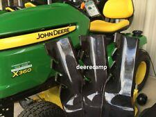 "Set of 3 Gator blades for John Deere 48"" mower on X300, X320, X324, X360 *596354"
