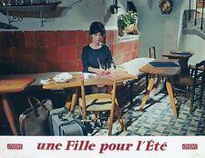 PASCALE PETIT UNE FILLE POUR L'ÉTÉ 1960 VINTAGE LOBBY CARD #1