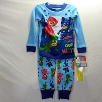 PJ Masks Toddler 2 Piece Pajama Set Long Sleeve We're On Our Way Size 2T