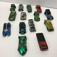 Vintage Lot 14 Red Lines Hot Wheels Cars Demon Peeping Bomb Whip Creamer Nomad