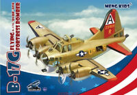 MENG KIDS mPLANE-001 FLYING B-17G FORTRESS BOMBER [Q Edition]