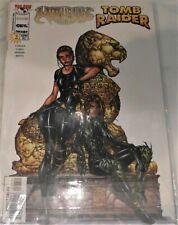 Image/Top Cow Comics Witchblade Tomb Raider (1998) #1 Dec Silvestri Variant Nm