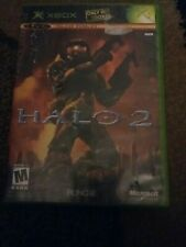 Halo 2 Microsoft Xbox Video Game Complete Tested minor scratches but works