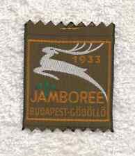 H902 15th WORLD SCOUT JAMBOREE 1983 - HUNGARIAN SCOUTS IN EXILE CONTINGENT PATCH