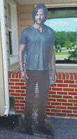 "Supernatural Cardboard Cutout Stand Up Display ""Sam"""