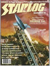 STARLOG MAGAZINE # 10 DECEMBER 1977 ISAAC ASIMOV CLOSE ENCOUNTERS SPACE: 1999