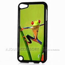 ( For iPod Touch 6 ) Back Case Cover AJ10498 Frog