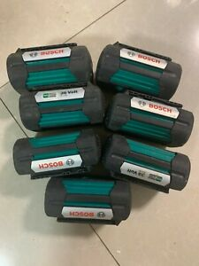 7pcs BOSCH 36V 4.0Ah Genuine FatPack Li-ion Batteries BAT838 for GBH36V-EC GBA36