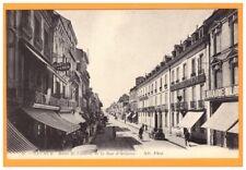 SAUMUR (49) HOTEL DE LONDRES ,BONNETERIE, LIBRAIRIE & RESTAURANT / Rue d'ORLEANS