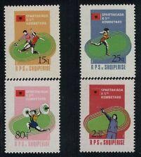 Albania MNH Sc 2147-50 Mi 2238-41 Spartakiad