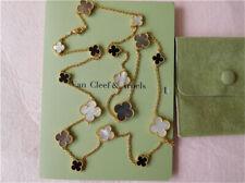 =Auth.=Van=Cleef=Arpels Magic Alhambra 16 Motifs Necklace 18k Yellow Gold