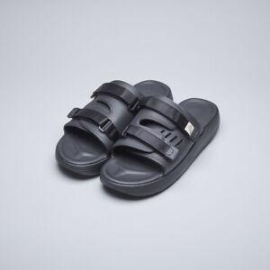 Suicoke OG-INJ-01 / URICH Black Slippers Sandals Slides