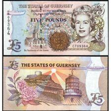 GUERNSEY  5 Pounds 1996 UNC P 56 c