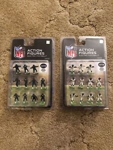 Lot Of 22 Seattle Seahawks Electric Football Action Figures Home Away New